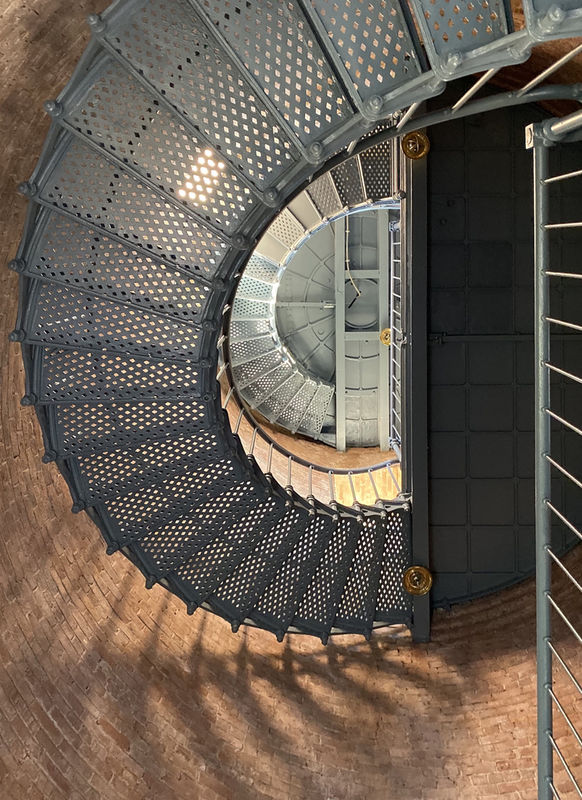 Staircase at the Southeast Lighthouse